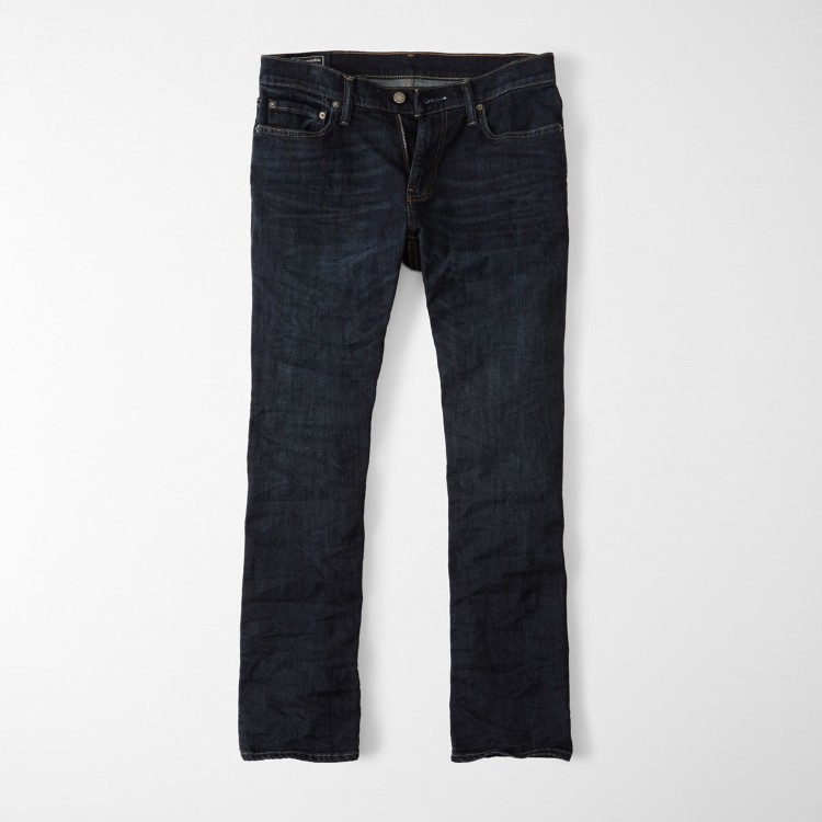 Джинсы boot cut Abercrombie Fitch