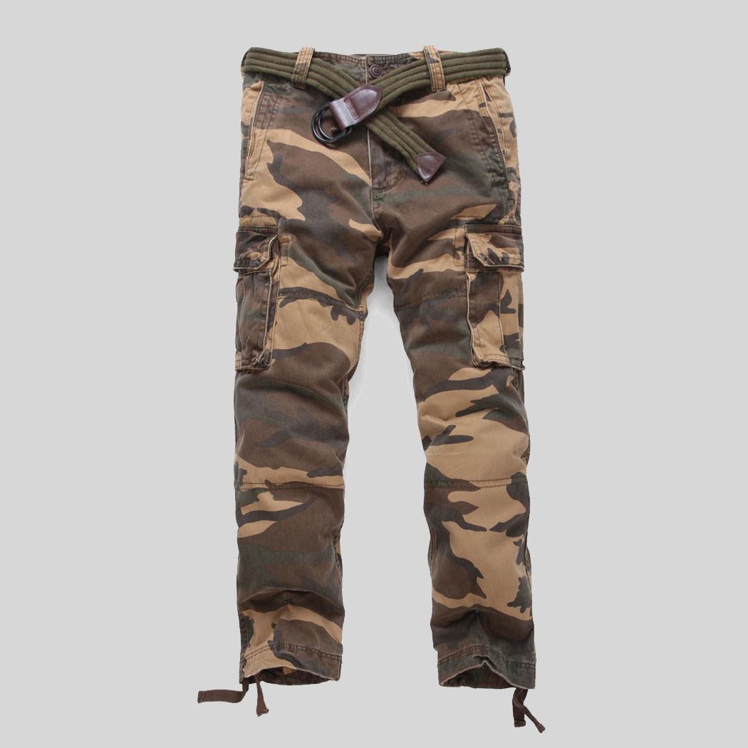 41fe7425 Мужские брюки карго Abercrombie Fitch цвет милитари артикул 50040 ...
