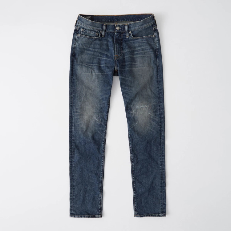 Джинсы Athletic Skinny Abercrombie Fitch