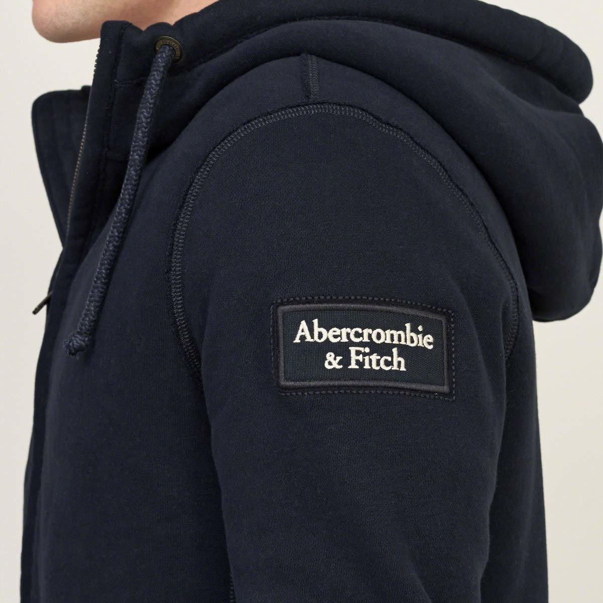 07a3bfcb Мужская толстовка с мехом худи Abercrombie & Fitch